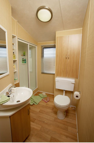 Holiday Caravan Bathroom