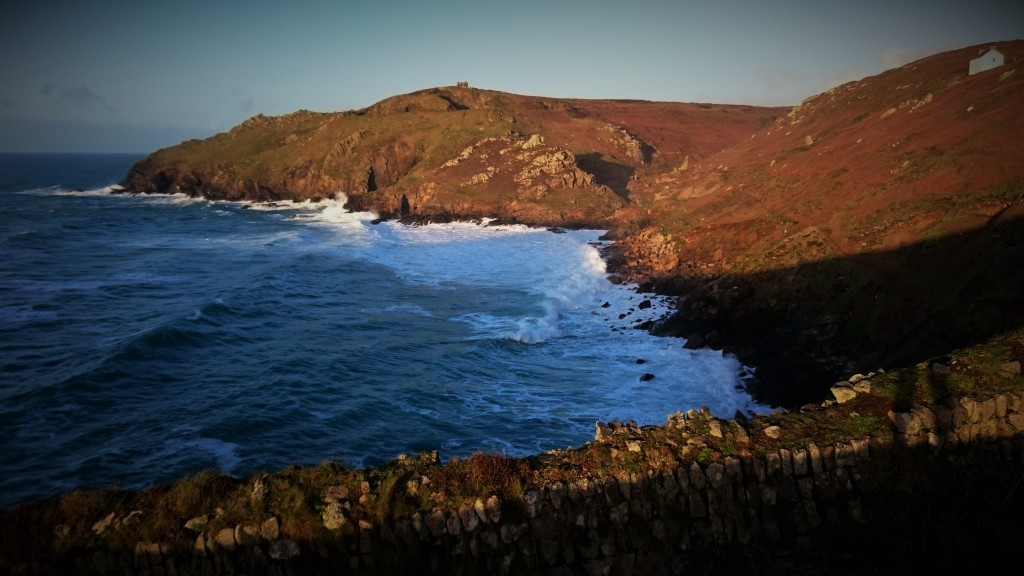 Porth Ledden in late January